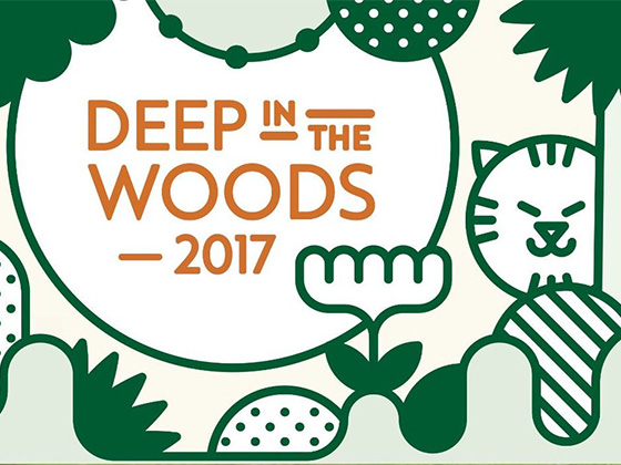 Deep in the Woods logo